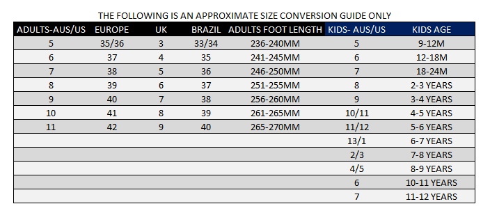 f47a8400c75b SIZING GUIDE